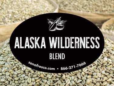 Alaska Wilderness Blend Coffee Beans 375x283  Safari Coast Blend