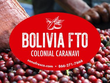 Bolivia FTO Colonial Caranavi Beans 375x283  French Vanilla Flavored Coffee Whole Bean