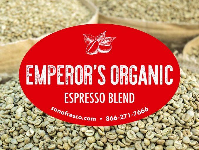 Emperor Organic Sonofresco 678x512  Emperor's Organic Espresso Blend