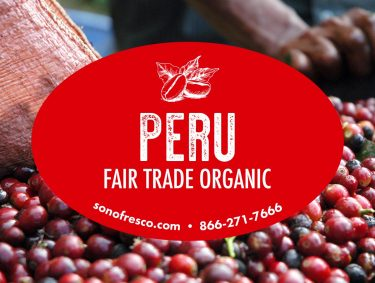 Peru FTO Green Beans 375x283  Silk Road Espresso Blend