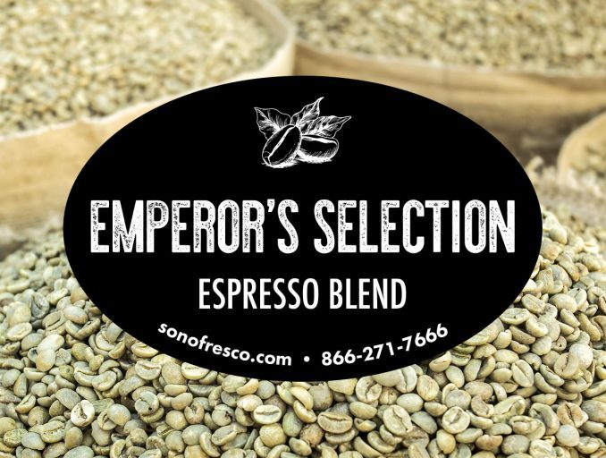 Sonofresco Emperors Selection Espresso Blend Coffee Beans 678x512  Emperor's Selection Espresso Blend