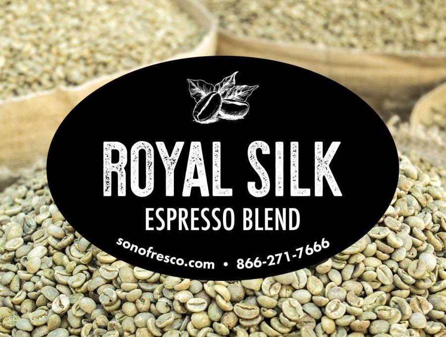 Sonofresco Royal Silk Coffee Beans 1 900x680  Royal Silk Espresso Blend