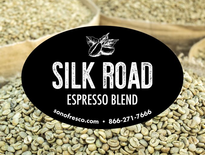 Sonofresco Silk Road Espresso Coffee Beans 678x512  Silk Road Espresso Blend