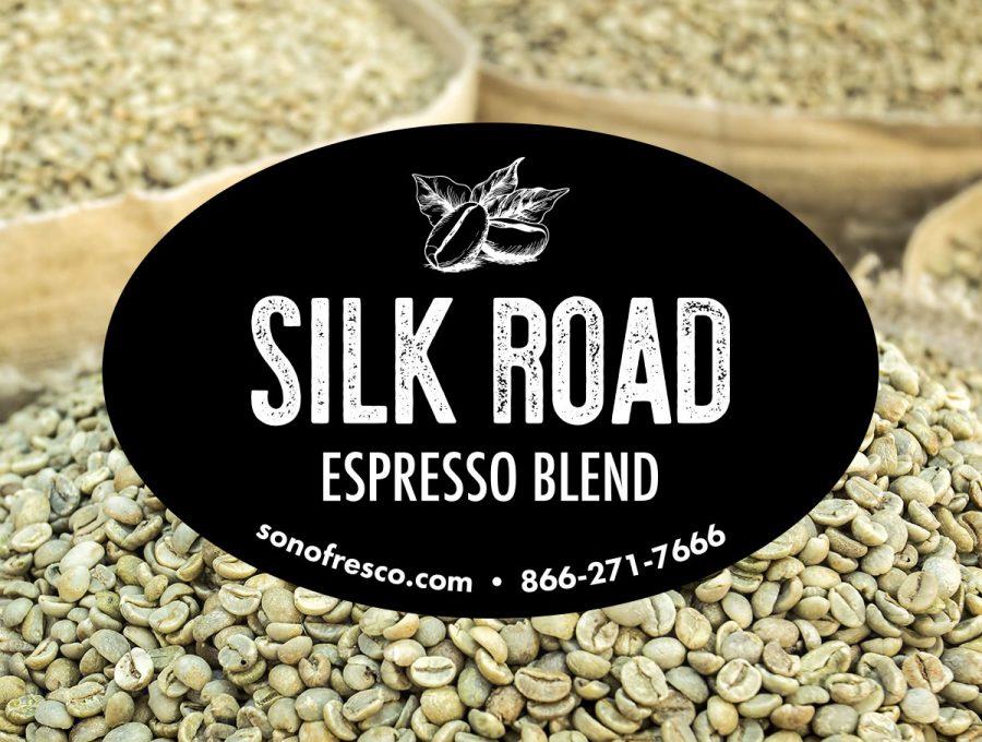 Sonofresco Silk Road Espresso Coffee Beans 900x680  Silk Road Espresso Blend