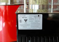 Sonofresco - Coffee Roaster U.L. Rating Label