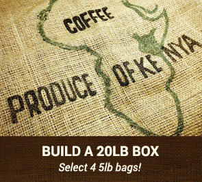 20LB Box of Green Coffee Beans