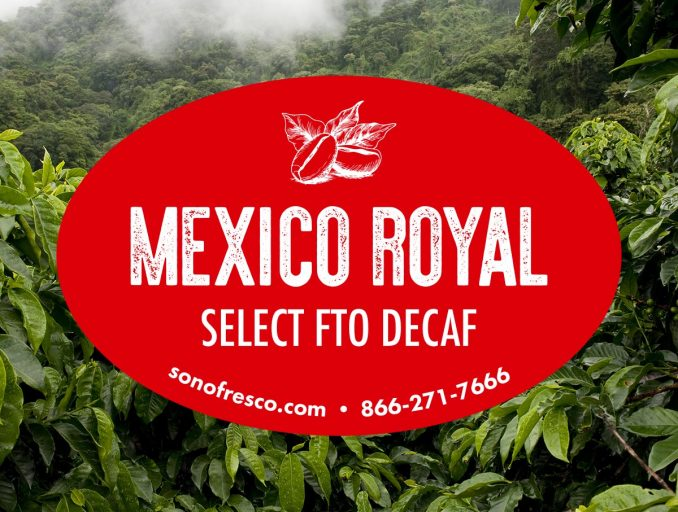 Mexico Royal Decaf Coffee Beans 678x512  Mexico Royal Select FTO Decaf