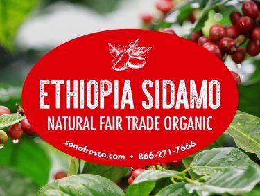 Ethiopia Sidamo FTO Beans 375x283  G1 HD BLK 1 lb. Bulk Coffee Grinder