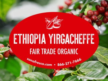Ethiopia Yirgacheffe FTO Beans 375x283  Peru FTO - Swiss Water Process Decaf