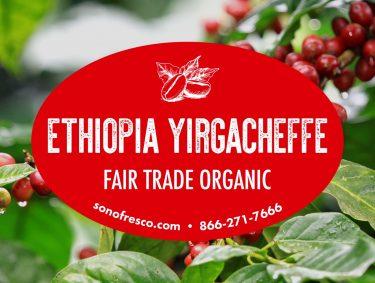 Ethiopia Yirgacheffe FTO Beans 375x283  New! Bistro Blend