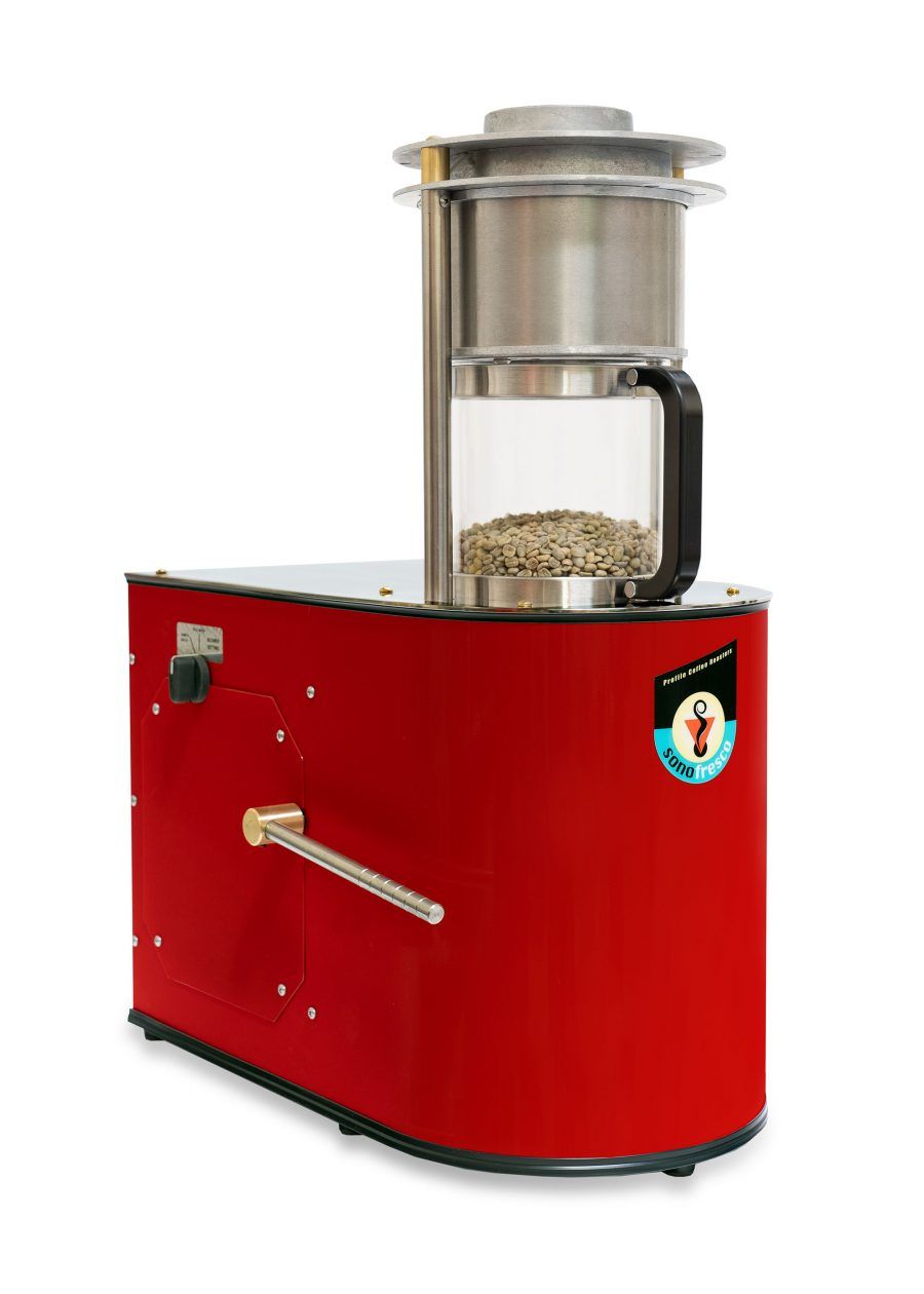 Sonofresco 1lb Coffee Roaster Red 900x1260  Profile Coffee Roaster