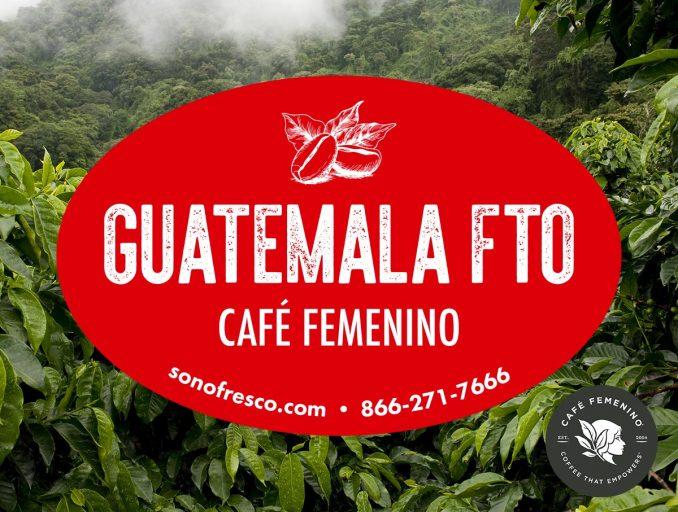 Guatemala Café Femenino FTO 678x512  Guatemala Café Femenino Nahuala FTO