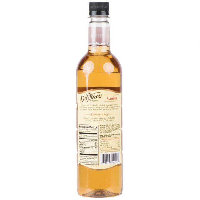 1440793 678x678  DaVinci Gourmet 750 mL Classic Vanilla Flavoring Syrup