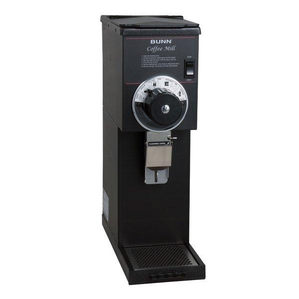 Bunn 22104.0000 G1 HD 1 lb. Black Bulk Coffee Grinder