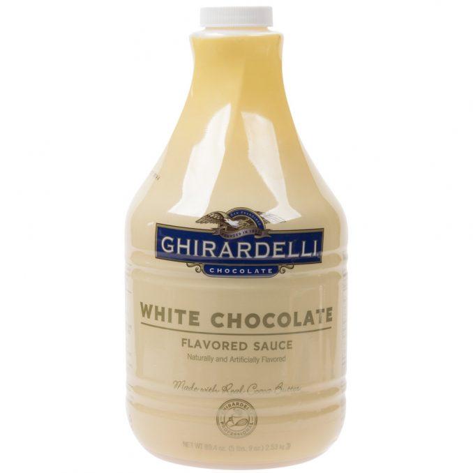 Ghirardelli White Chocolate Flavoring Sauce