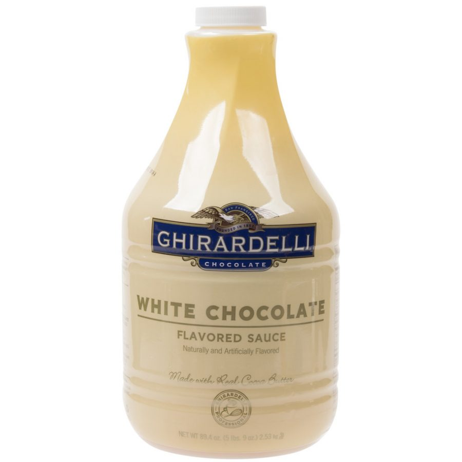 Ghirardelli 64 fl. oz - White Chocolate Flavoring Sauce
