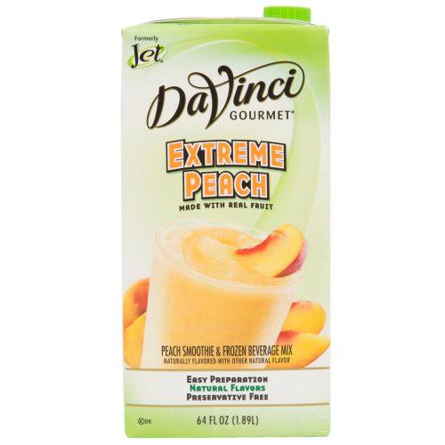 DaVinci Gourmet 64 oz-Extreme Peach Real Fruit Smoothie Mix