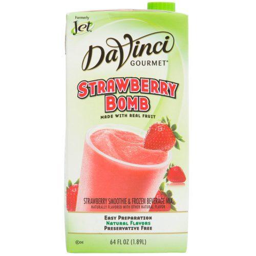 DaVinci Gourmet 64 oz - Strawberry Bomb Real Fruit Smoothie Mix