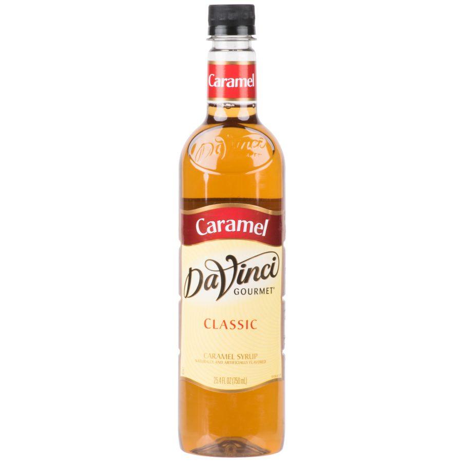 DaVinci Gourmet 750 mL - Classic Caramel Flavoring Syrup