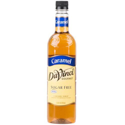DaVinci Gourmet 750 mL - Sugar Free Caramel Flavoring Syrup