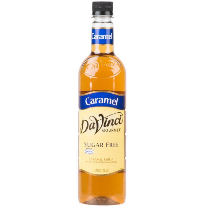 DaVinci Gourmet Sugar Free Caramel Flavoring Syrup