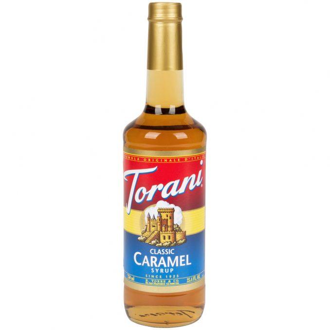 Torani 750 mL - Hazelnut Flavoring Syrup