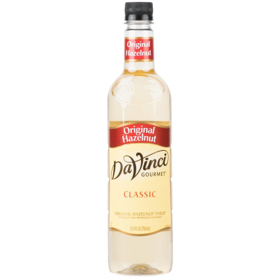DaVinci Gourmet 750 mL -Classic Hazelnut Flavoring Syrup
