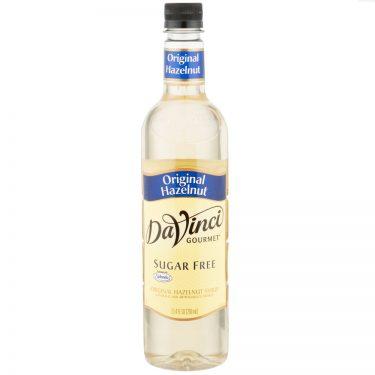 DaVinci Gourmet 750 mL - Sugar Free Hazelnut Flavoring Syrup
