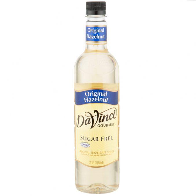 DaVinci Gourmet Sugar Free Hazelnut Flavoring Syrup