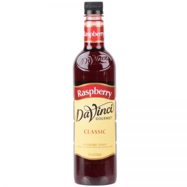 DaVinci Gourmet 750 mL - Classic Raspberry Flavoring / Fruit Syrup