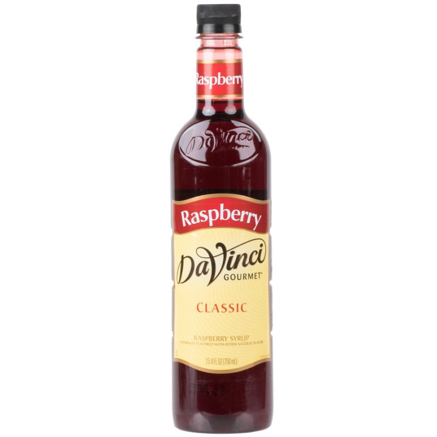 DaVinci Gourmet 750 mL - Classic Raspberry Flavoring / Fruit Syrup