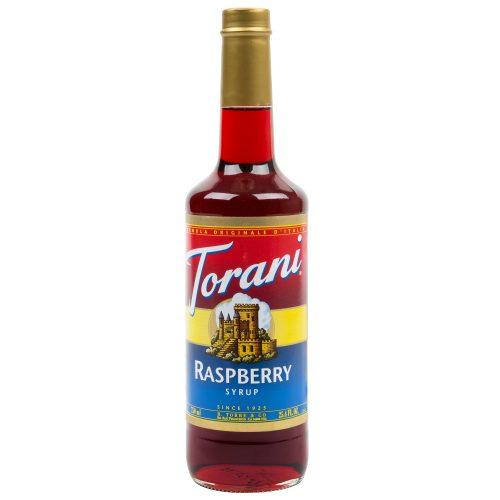 Torani 750 mL Raspberry Flavoring / Fruit Syrup
