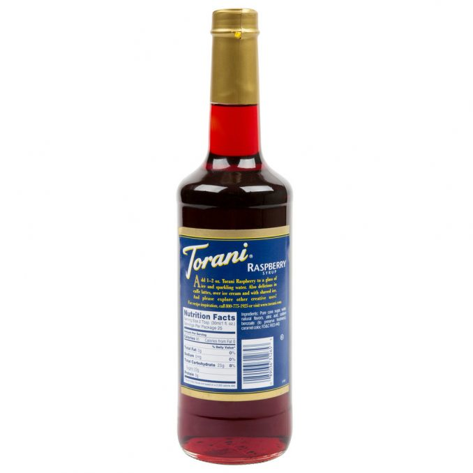 Torani Hazelnut Flavoring Syrup - 750 mL