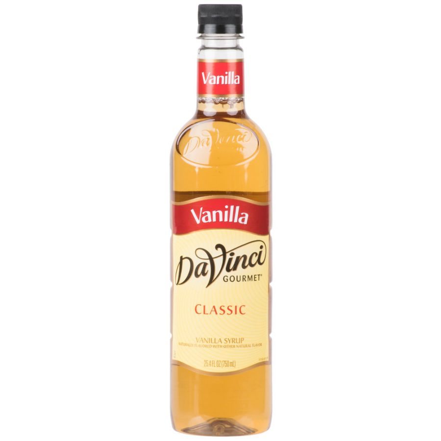 DaVinci Gourmet 750 mL - Classic Vanilla Flavoring Syrup