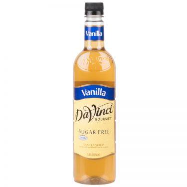DaVinci Gourmet Sugar Free Vanilla Flavoring Syrup