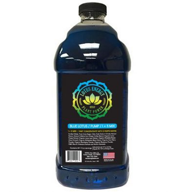Blue Lotus 375x394 Pink Lotus Energy Concentrate 1/2 Gallon Pump & Serve