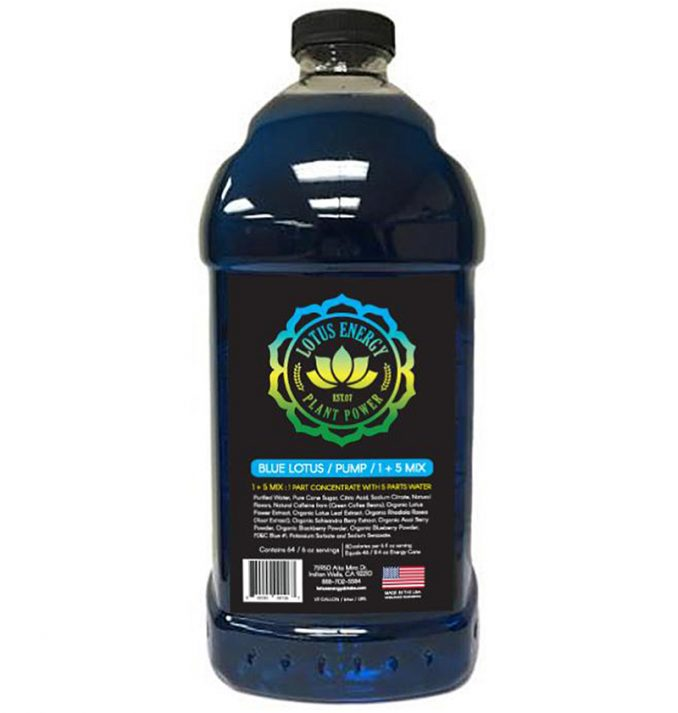 Blue Lotus 678x713 Blue Lotus Energy Concentrate 1/2 Gallon Pump & Serve