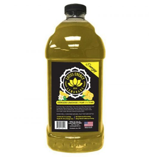 Lotus Lemonade 500x526  Red Lotus Energy Concentrate 1/2 Gallon Pump & Serve