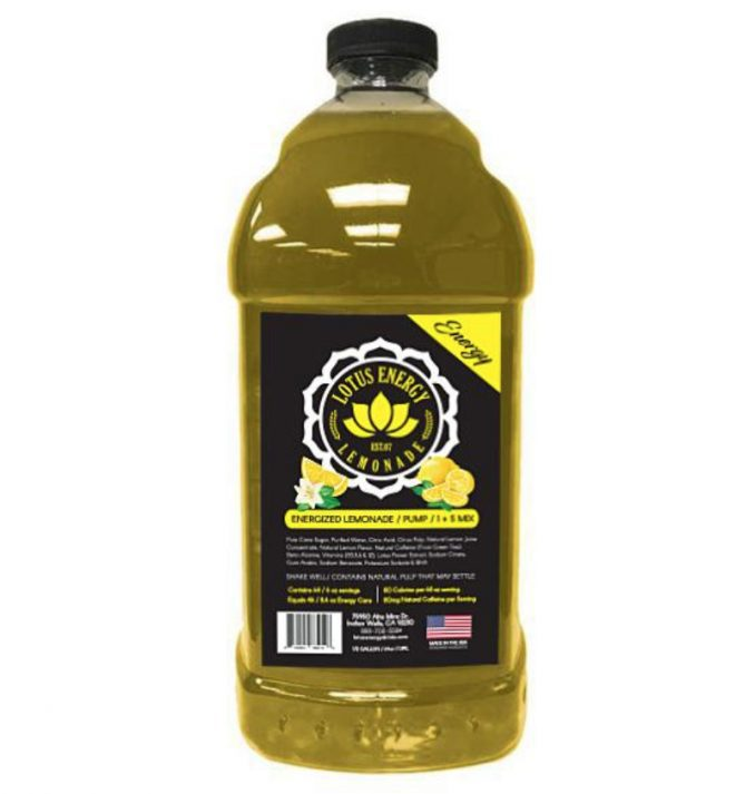 Lotus Lemonade 678x713  Lotus Energy Lemonade Concentrate 1/2 Gallon Pump & Serve