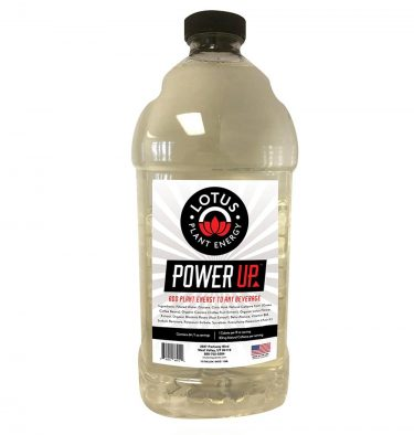 Lotus Power UP Energy Concentrate 375x394  Lotus Energy Lemonade Concentrate 1/2 Gallon Pump & Serve