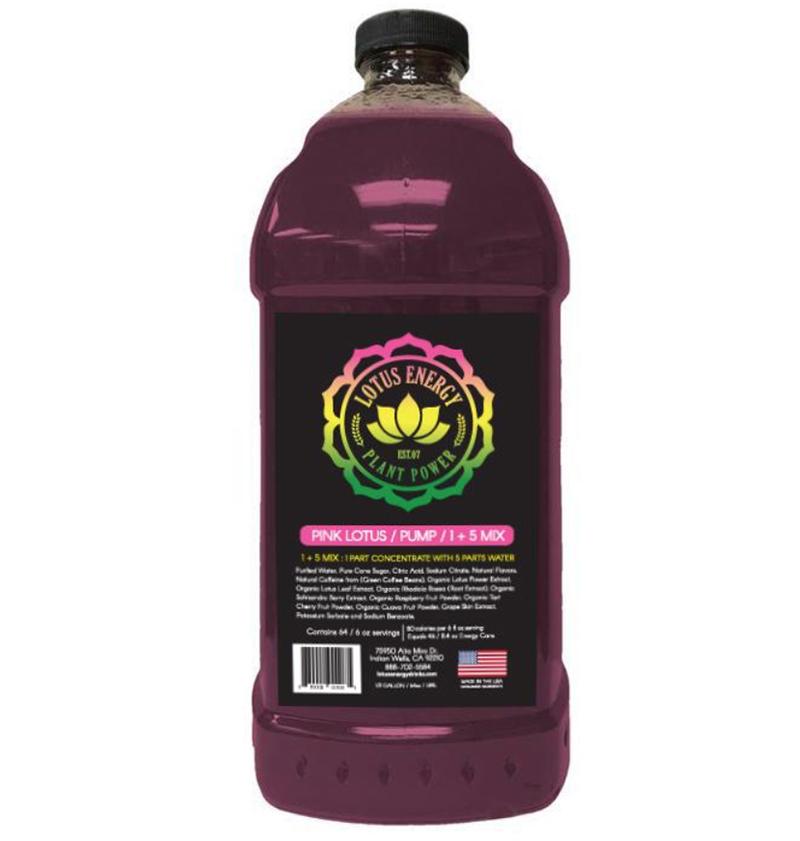 Pink Lotus  Pink Lotus Energy Concentrate 1/2 Gallon Pump & Serve