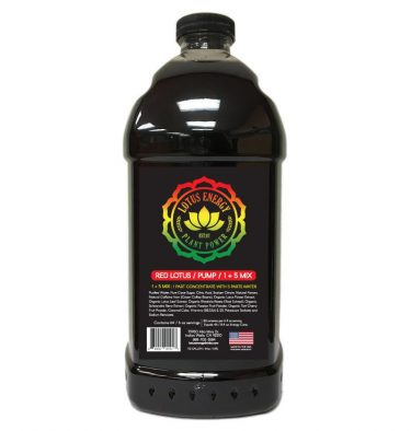 Red Lotus 375x394 Pink Lotus Energy Concentrate 1/2 Gallon Pump & Serve