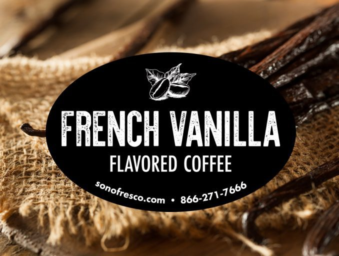 French Vanilla Flavored Coffee Whole Bean 678x512  French Vanilla Flavored Coffee Whole Bean