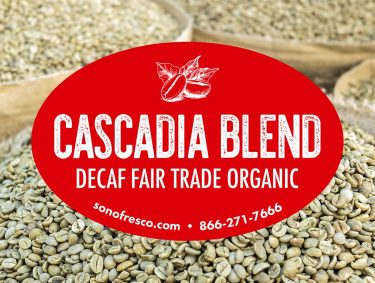 Cascadia Blend Green Coffee Beans 375x283  Profile Coffee Roaster
