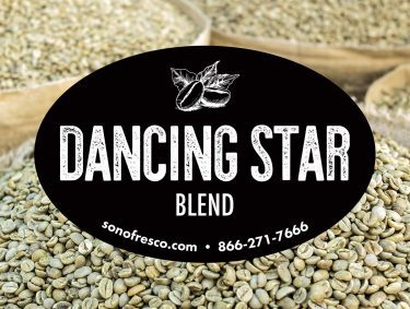 Dancing Star Blend Green Coffee Beans 375x283  Peru FTO