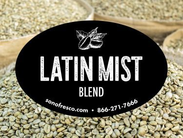 Latin Mist Blend Coffee Beans 375x283  Peru FTO