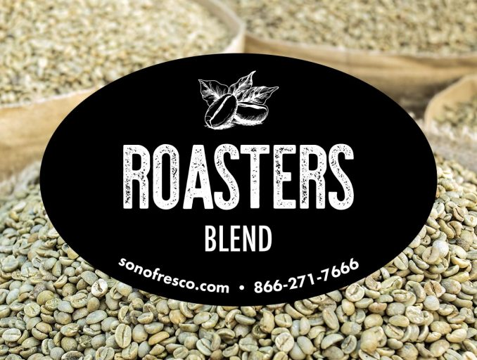 Roasters Blend Green Coffee Beans 678x512  New! Roasters Blend