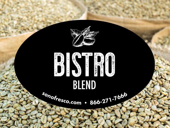 Bistro Blend Green Coffee Beans 678x512  New! Bistro Blend