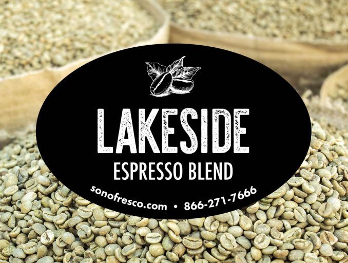 Lakeside Espresso Coffee Bean Blend 678x512  New! Lakeside Espresso Blend