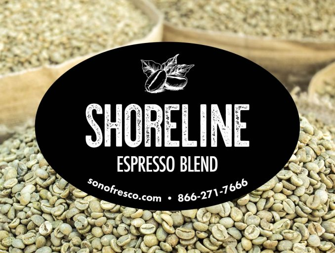 Shoreline Espresso Coffee Bean Blend 678x512  New! Shoreline Espresso Blend